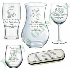 Personalised Wedding Gifts Best Man Gifts Usher Gifts Bridesmaid Engraved Gift