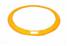 Trampoline Replacement Safety Pad Frame Spring Round Cover Pad 10-16 FT Orange
