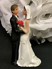 Wedding Bride and Groom Couple Cake Topper Favor Choose Amount