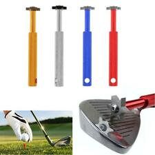 6 Blade Golf Iron & Wedge Club Groove Tool Sharpener Cleaner For V U Square