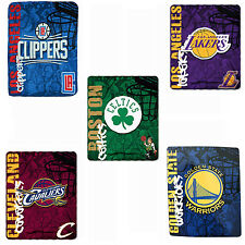 NBA Teams Blanket Collection Celtics Cavaliers Warriors Clippers & Lakers
