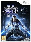 Star Wars The Force Unleashed 2 II Nintendo Wii Game
