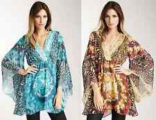 $300 Meghan LA Meghan Los Angeles Yellow or Teal Charlotte Tunic Dress XS