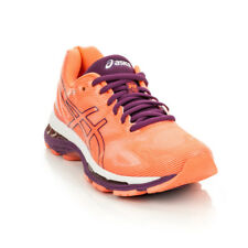 Asics - Womens Gel Nimbus 19 - Flash Coral/Dark Purple/White