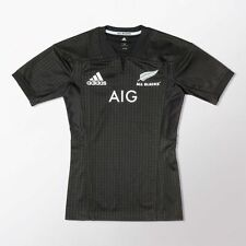 adidas Performance ALL BLACKS HOME MEN'S RUGBY JERSEY - Size S, M, L, 2XL Or 3XL