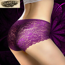 Large Size  Women Lady Sexy Knicker Thongs Briefs Underwear Panties Seamless New