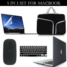 Hard Case+Bag+Mouse +LCD+Keyboard Cover Set for Macbook AIR/PRO Retina 11/13/15""