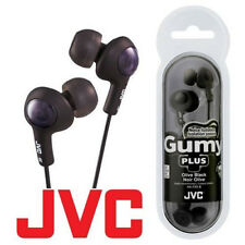 JVC Gumy Gummy Plus HA-FX5 All Colors In-Ear Canal Earbuds Headphones Earphones