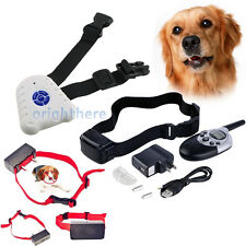600/1000 Yard Dog Shock Training Collar with Remote Control ZM