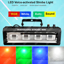New DJ strobe stage lights KTV Bar Flash Light Disco Lighting Power Flash Lamp