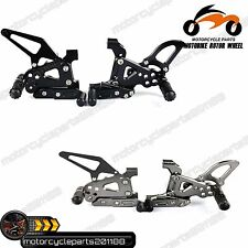 CNC Billet Ducati 899 1199 Panigale Rearsets Rear Sets Pedal Footrests Footpegs