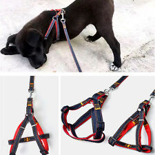 Small Large Dog Leash Adjustable Harness Pet Walk Out Hand Strap Vest Collar Hot