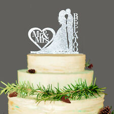 Custom Wedding Cake Topper Mr & Mrs Personalized Cake Topper Unique Wedding Gift