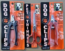 New ALLARY Dog Nail Clippers, Small To Medium Dogs Choice Of Red Or Black