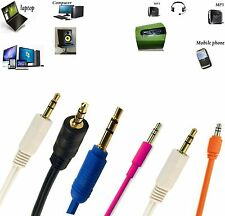 3.5mm Jack Male to Male Car Aux Auxiliary Stereo Audio Cable for Mobile & MP3