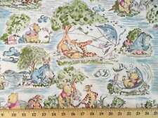 Winnie The Pooh Fabric Disney Eeyore Tigger Kite Toile Cotton Fabric t5/26