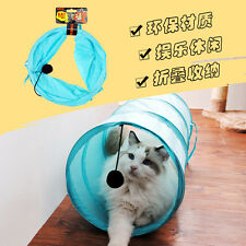 Colorful Folding Cat Tunnel Beyond Pet Supplies Rabbits Play Toy M99G With Ball