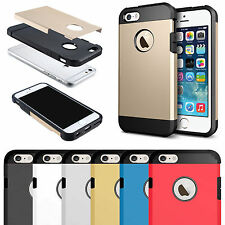 Slim Armor Shock Proof Hard Tough Hybrid Case Cover for Apple iPhone 6 6S Plus
