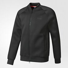 adidas Originals SUPERSTAR WAFFLE MEN'S TRACK JACKET Black - Size XS, S Or M