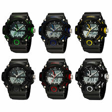 Watch Sport Analog Digital OHSEN AD2808 Waterproof Army Military Men Wrist Watch