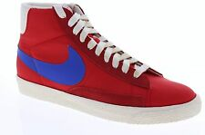 Nike Mens Blazer High Vintage ND University Red Blue Casual Shoes 375722 641