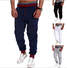 Mens Jogging Sport Sweat Pants Training Trousers Jogger Tracksuit Casual Bottoms