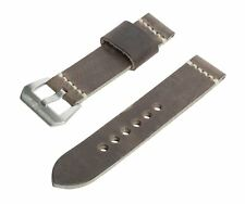 SWISS REIMAGINED Watch Band Leather Strap Stainless Buckle