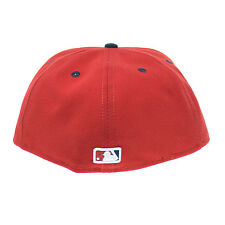 New Era Washington Nationals MLB 59FIFTY Official On-Field Fitted Cap Red/White