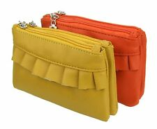 Vanity bag orange or yellow small handbag Clutch make up bag make-up bag
