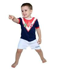 Rugby League NRL Sydney Roosters Team Short  Footysuit for Kids