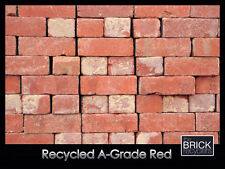 SECOND HAND RECYCLED SOLID RED BRICKS - A-GRADE-  FROM *0.90c EACH!!
