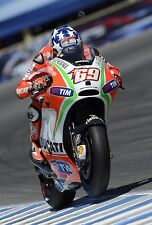 Nicky Hayden - Ducati 2012 - A1/A2/A3/A4 Photo/Poster Print