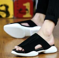 Mens Fashion Sandals Anti-Slip loafer Outdoor Casual Slippers Shoes Flip-flops