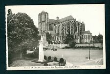 Le Mans 155. Cathedral, Place des Jaccbins. France. Uncirculated/Unused