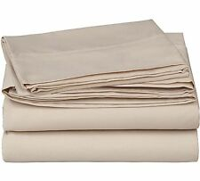 "1000 Thread Count 4 Piece Bedsheet Set TAUPE 18"" Pocket  Egyptian Cotton 1000TC"