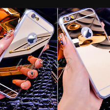 Luxury Ultra Thin Mirror Soft TPU Case Cover for iPhone 5/5s/6/6s/6s Plus Phones