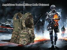Amphibious tactical military vest battle assault camouflage