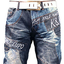 K&M KOSMO LUPO OCEAN DRIVE MENS JEANS DENIM  ALL SIZES
