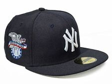 New Era New York Yankees 59Fifty MLB American Navy Fitted Hat (NEYYAN AMERICAN)