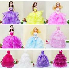 26cm Princess Wedding Dress Party Dress/Clothes/Gown Outfit for Barbie Doll Accs