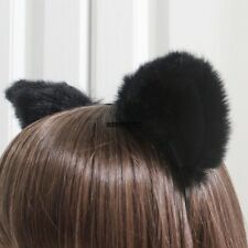 Cute Cosplay Party Headband Orecchiette Cat Fox Long Fur Ears Anime IXH401