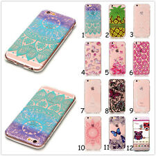 Ultra Slim Clear Soft Silicone TPU Gel Back Protective Case Cover For Cellphones