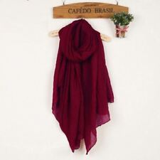 Winter and Autumn Scarf Women Shawls And Scarves Linen Cotton Scarf Warm