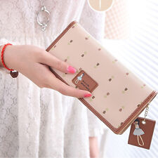New Fashion Lady Long Purse Women Clutch Wallet Zip Bag Card Holder