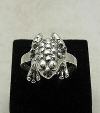 Sterling silver ring Frog solid 925 R000817 EMPRESS