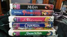Disney Masterpiece Collection VHS Movies REDUCED