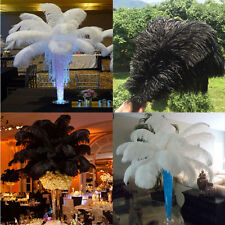 Wholesale 10-100pcs High Quality Natural Ostrich Feathers 6-24inch/15-60 cm