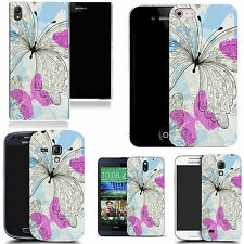 motif case cover for various Popular Mobile phones - dainty butterfly