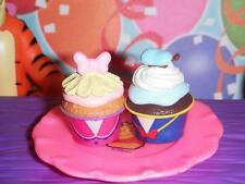 Rement Donald & Daisy Duck Cupcake Food Lot fits Loving Family Dollhouse Doll