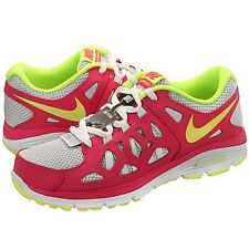 New Nike Dual Fusion Run 2 (GS) 599793-005 Volt-Pink Girls/Wmns Select Ur Size